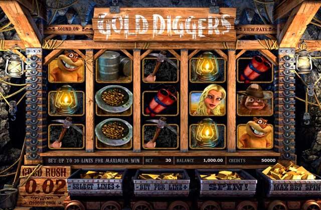 Игровой-автомат-Gold-Diggers,-симулятор-добычи-золота